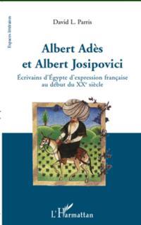 Albert Ades et Albert Josipovici