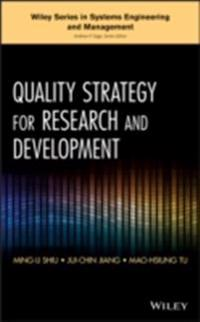 Quality Strategy for Research and Development