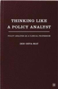 Thinking Like a Policy Analyst