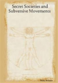 Secret Societies and Subversive Movements