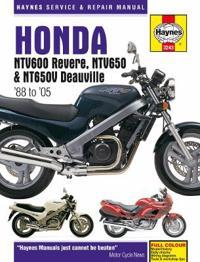 Haynes Honda Ntv600 Revere, Ntv650 & Ntv650v Deauville '88 to '05 Repair Manual