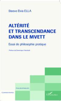 Alterite et transcendance dans le Mvett