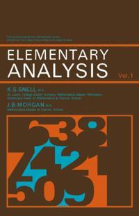 Elementary Analysis