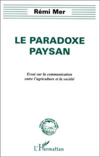 LE PARADOXE PAYSAN