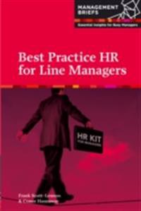 HR for Line Managers - Best Practice