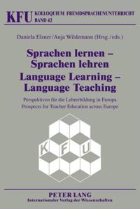 Sprachen lernen - Sprachen lehren / Language Learning - Language Teaching