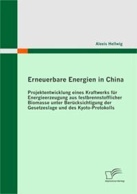 Erneuerbare Energien in China: Projektentwicklung eines Kraftwerks fur Energieerzeugung aus festbrennstofflicher Biomasse unter Berucksichtigung der Gesetzeslage und des Kyoto-Protokolls