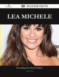 Lea Michele 189 Success Facts - Everything you need to know about Lea Michele