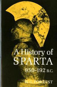 History of Sparta, 950-192 B. C. (Revised)