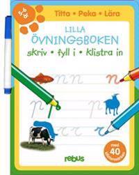 Lilla övningsboken med stickers 5 - 6 år