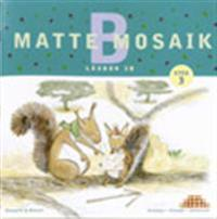 Matte Mosaik 3 Läxbok 3B 5-pack