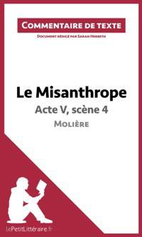 Le Misanthrope de Moliere - Acte V, scene 4