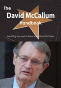 David McCallum Handbook - Everything you need to know about David McCallum