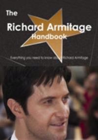Richard Armitage (actor) Handbook - Everything you need to know about Richard Armitage (actor)