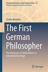 The First German Philosopher