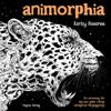Animorphia   målarbok