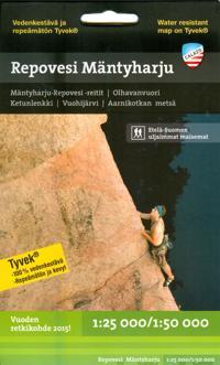 Repovesi-Mäntyharju retkeilykartta, 1:25 000/1:50 000
