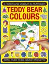 Sticker and Color-in Playbook: Teddy Bear Colors