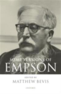 Some Versions of Empson