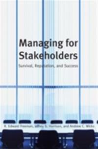Managing for Stakeholders
