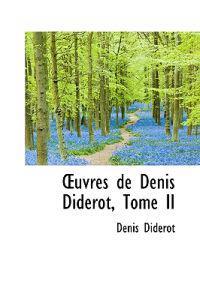 Oeuvres De Denis Diderot