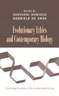 Evolutionary Ethics and Contemporary Biology