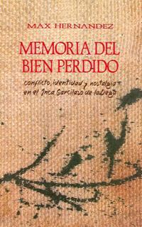 Memoria del bien perdido