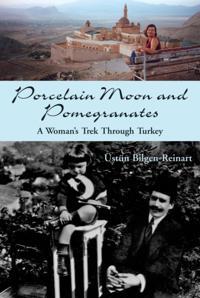 Porcelain Moon and Pomegranates