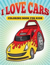 L Love Cars: Kids Coloring Book of Cars