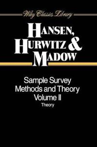 Sample Survey Methods and Theory