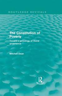Constitution of Poverty (Routledge Revivals)
