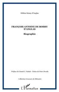 FRANCOIS ANTOINE DE BOISSY D'ANGLAS
