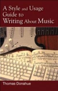 Style and Usage Guide to Writing About Music