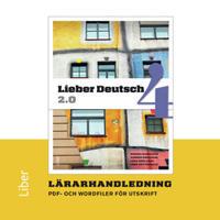 Lieber Deutsch 4 2.0 Lärarhandledning cd