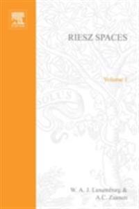 Riesz Spaces