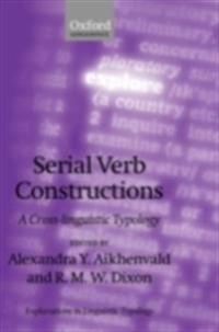 Serial Verb Constructions A Cross-Linguistic Typology