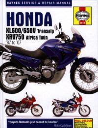 Honda XL600/650V Transalp and XRV750 Africa Twin Service and Repair Manual
