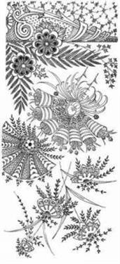 Treasury of Decorative Floral Designs