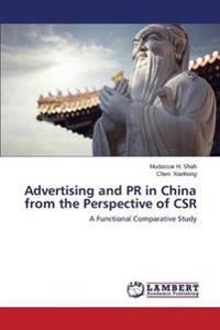 Advertising and PR in China from the Perspective of Csr