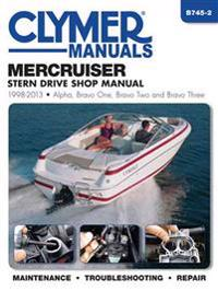 Clymer Mercruiser Stern Drive 1998-2013 Shop Manual