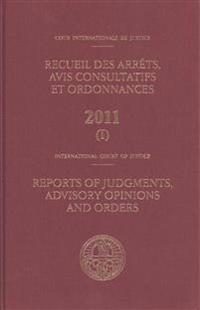 Reports of judgments, advisory opinions and orders 2011
