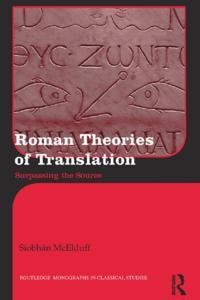 Roman Theories of Translation
