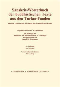 Sanskrit-Worterbuch Der Buddhistischen Texte Aus Den Turfan-Funden. Lieferung 24: SAS/Sam-Pad
