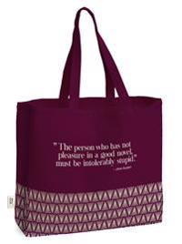 Bookalicious Book-bag Burgundy