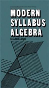 Modern Syllabus Algebra
