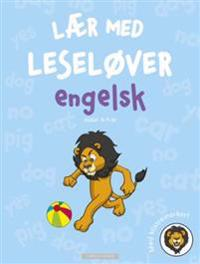 Engelsk. Lær med leseløver. Med klistremerker!