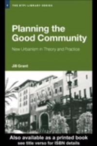 Planning the Good Community