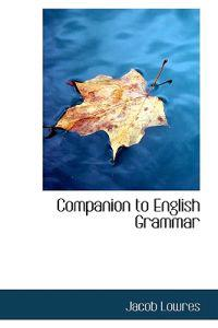Companion to English Grammar