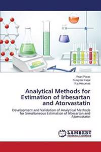 Analytical Methods for Estimation of Irbesartan and Atorvastatin