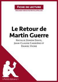 Le Retour de Martin Guerre de Davis, Carriere et Vigne (Fiche de lecture)